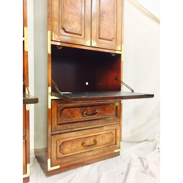 Mid-Century Asian Style Cabinets - A Pair - Image 9 of 11