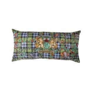 """""""Fleurs D'ecosse"""" Hermès Silk Scarf Pillow For Sale"""