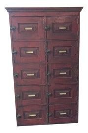 Image of Oak Filing Cabinets