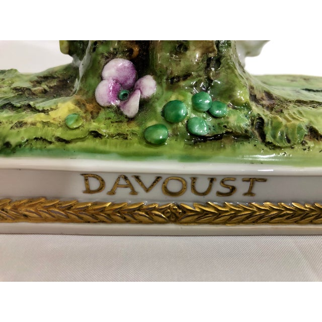 1920s German Porcelain Statue of Napoleonic General Davoust For Sale - Image 5 of 8