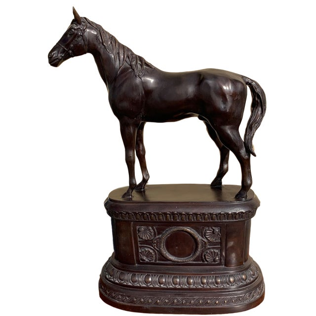 Maitland Smith Equestrian Bronze For Sale - Image 10 of 10