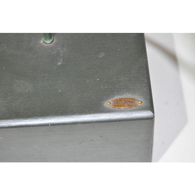 Curtis Jere Bronze Hoop & Figure - Image 4 of 5