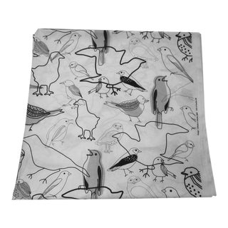 Modernist Bird Fabric - 3.5 Yards