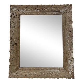Antique Della Robbia Mirror For Sale