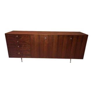 1950s Vintage George Nelson for Herman Miller Rosewood Credenza For Sale