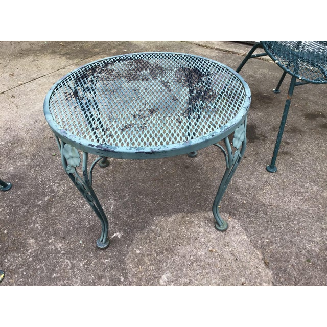 Abstract Sculptura Chair Table Russell Woodard Patio Set - 3 Pieces Last Call For Sale - Image 3 of 10