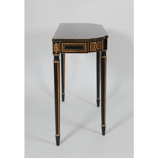 Vintage Baltimore Style Painted Side Table For Sale - Image 9 of 11