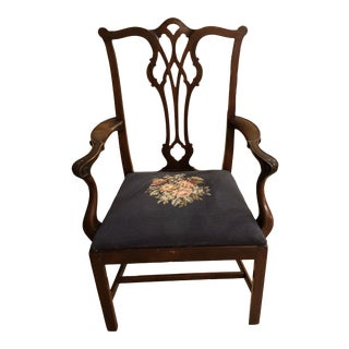 1920s Antique Baker Dining Chair For Sale