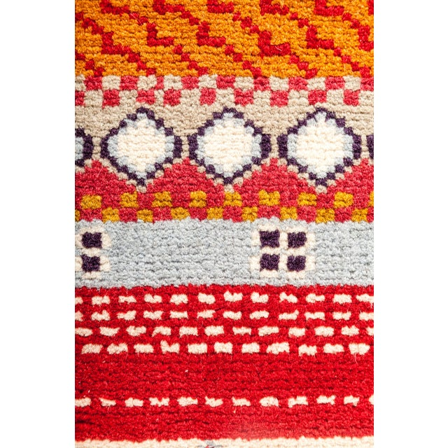 "Lori Hand Knotted Runner - 2'1"" X 6'4"" - Image 2 of 3"