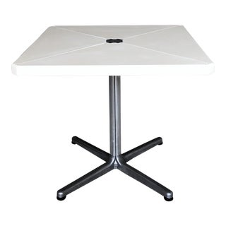 "1970s Mid-Century Modern Giancarlo Piretti for Castelli ""Plana"" Folding Table For Sale"