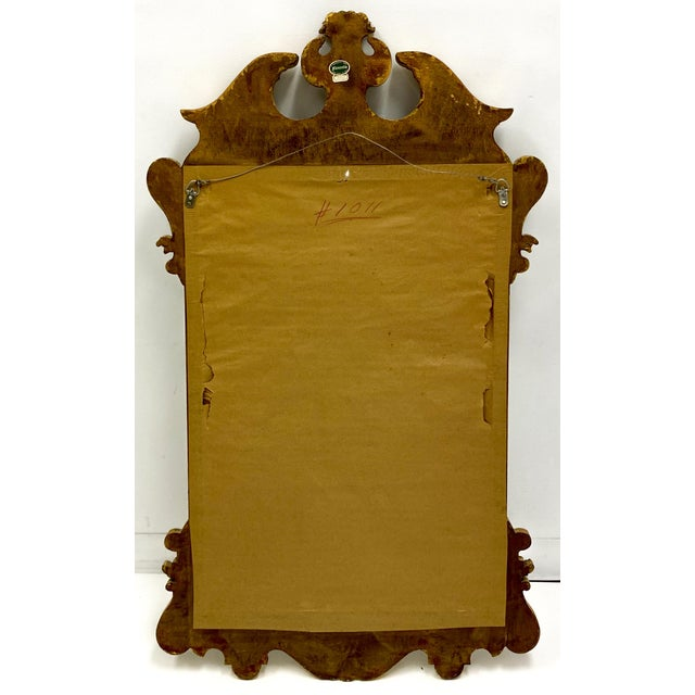 Traditional Vintage Decorative Crafts Italian Federal Style Mirror For Sale - Image 3 of 6