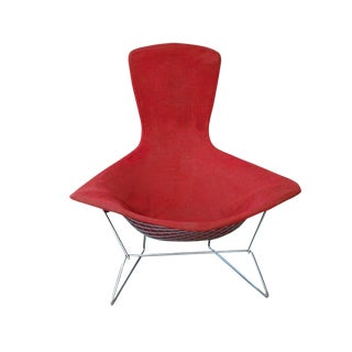Vintage Mid-Century Knoll Bertoia Bird Lounge Chair For Sale