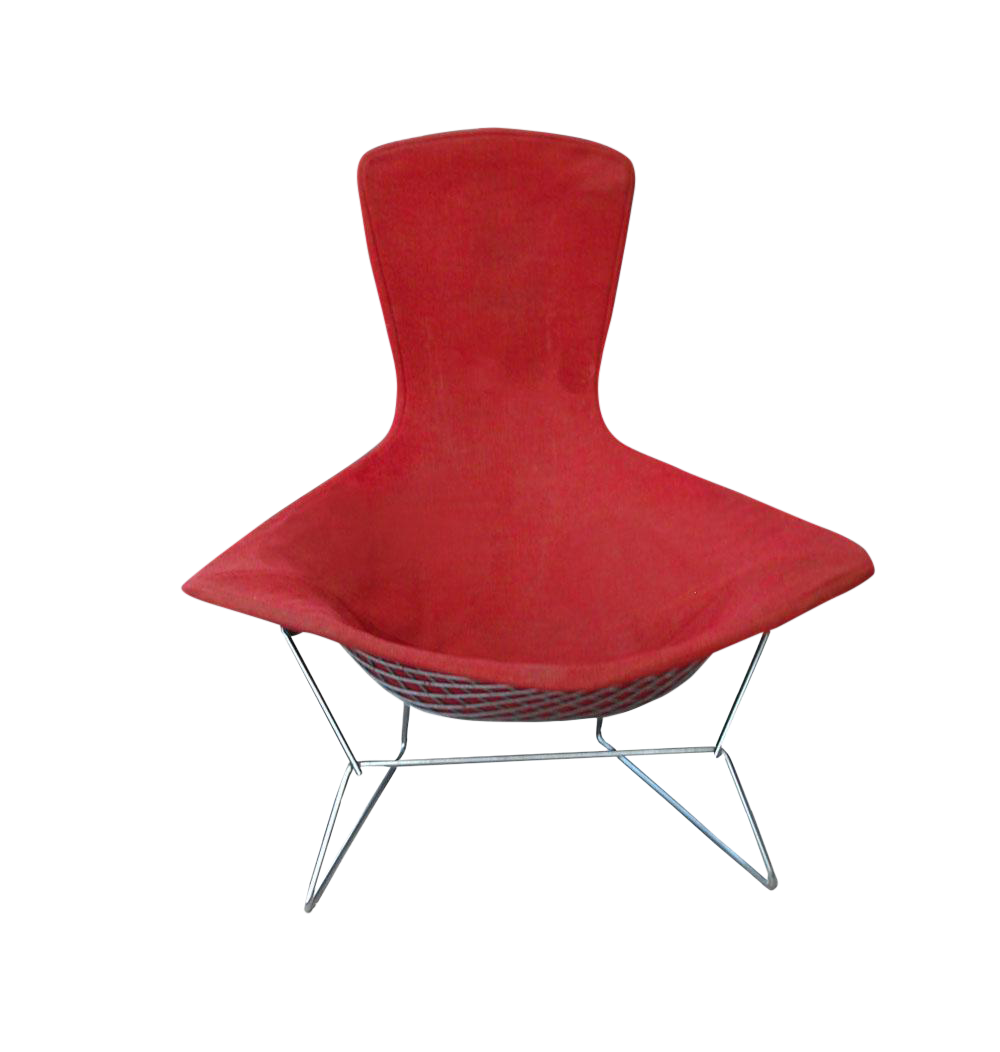 Merveilleux Vintage Mid Century Knoll Bertoia Bird Lounge Chair   Image 1 Of 6