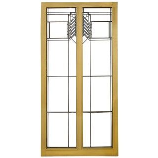 Frank Lloyd Wright Window from the Oscar Steffens House, 1909
