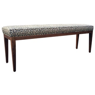 Leopard Print Bench by Empiric For Sale