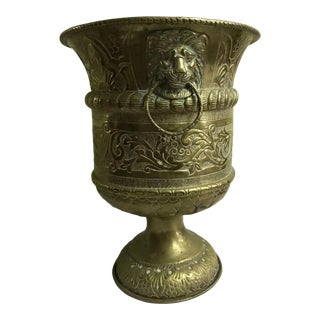 18th-Century Dutch Repousse Wine Cooler For Sale