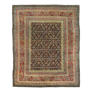 Vintage India Agra Rug with Modern Traditional Style For Sale