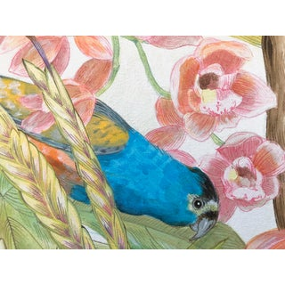 """Modern """"A Parrot's Life for Me"""" Acrylic Painting Preview"""