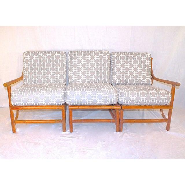 Ritts Tropitan Mid-Century Bamboo Sofa - Image 2 of 6