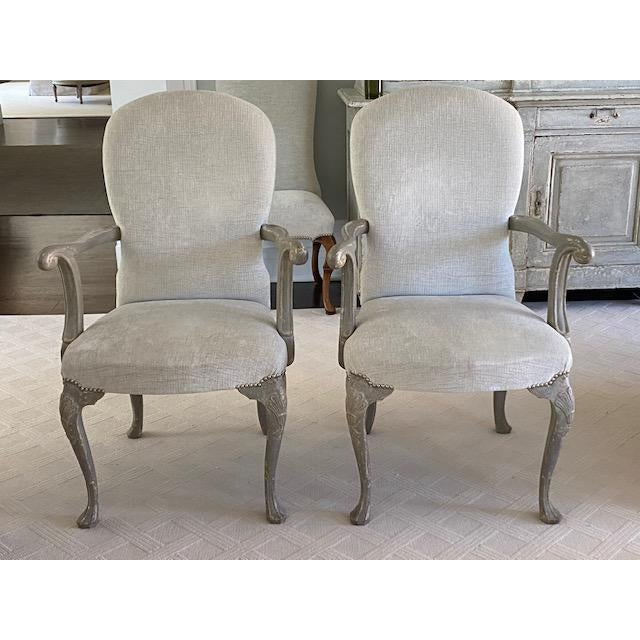 Antique Belgium Armchairs - a Pair For Sale - Image 12 of 12