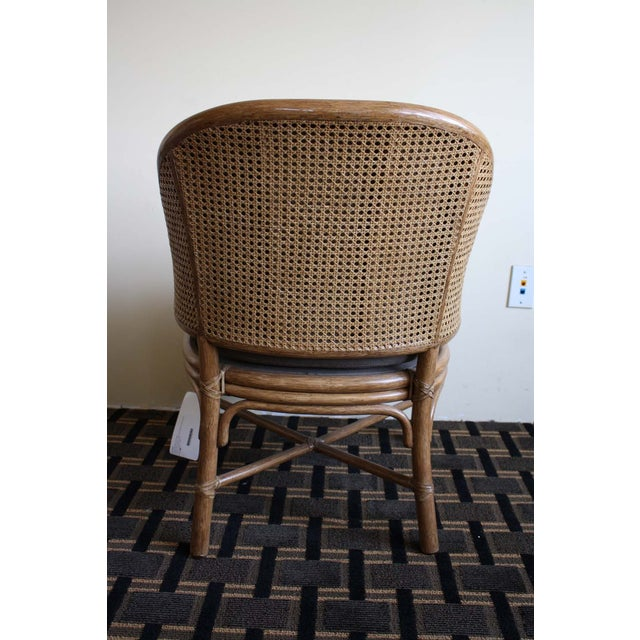 McGuire Toboggan Arm Chair - Image 6 of 6