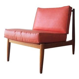 1950s Folke Ohlsson Slipper Chair for Dux For Sale