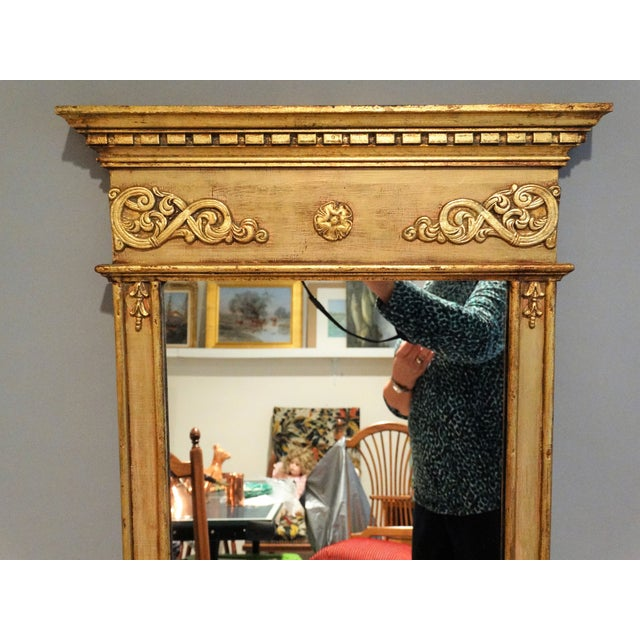 1960s Italian Giltwood Mirror For Sale - Image 5 of 6