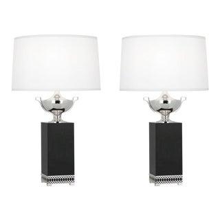 IRobert Abbey - Williamsburg Tucker Estate Lamps - a Pair For Sale