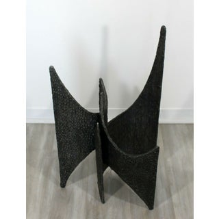 Mid Century Modern Brutalist Abstract Resin Metal Sculpture Evans Pearsall Era Preview