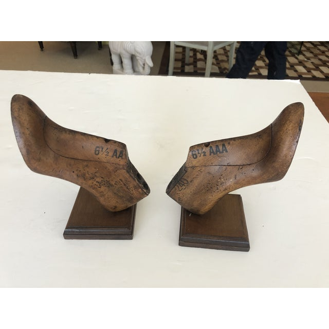 19th Century Shoe Mold Bookends - a Pair For Sale In Philadelphia - Image 6 of 10