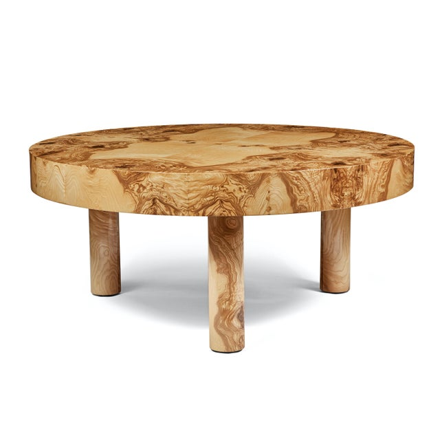 Carlton Coffee Table by August Abode For Sale - Image 9 of 9