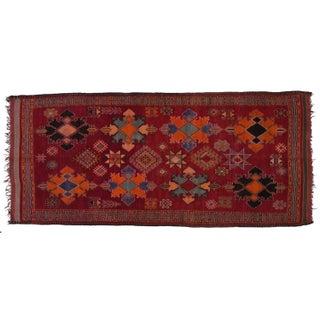 "Vintage Berber Moroccan Rug 6'5"" X 13'10"""
