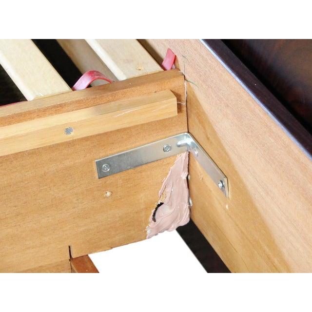 Danish Rosewood King Size Platform Bed For Sale - Image 10 of 11