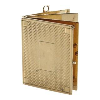 14 Karat Yellow Gold Book Charm Pendent