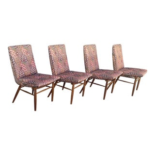 1950s Vintage George Nakashima Chairs for Widdicomb- Set of 4 For Sale