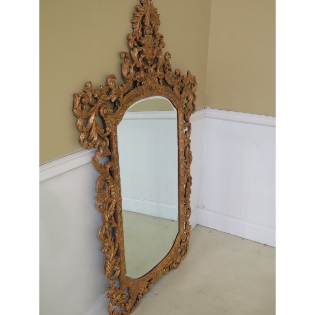 THEODORE ALEXANDER French Style Paint Decorated Mirror ~ NEW Age: New Floor Model Details: Beveled Glass Quality...