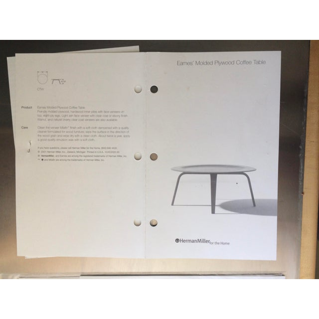 79916db989 Mid-Century Modern Eames Molded Plywood Coffee Table For Sale - Image 3 of 9