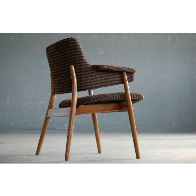 1950s Midcentury Hans Olsen Style Lounge or Accent Chair For Sale - Image 5 of 10