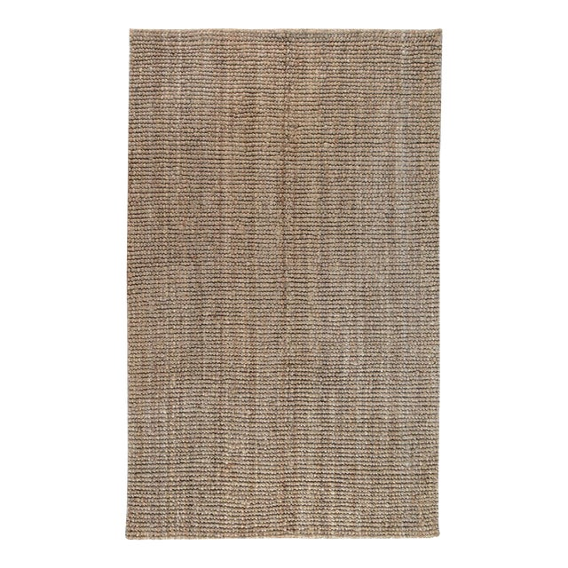 Loop Natural Jute Rug - 5 X 8 For Sale