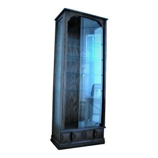 1980s Contemporary Utility Cabinet Linen Closet Liquor Cabinet For Sale