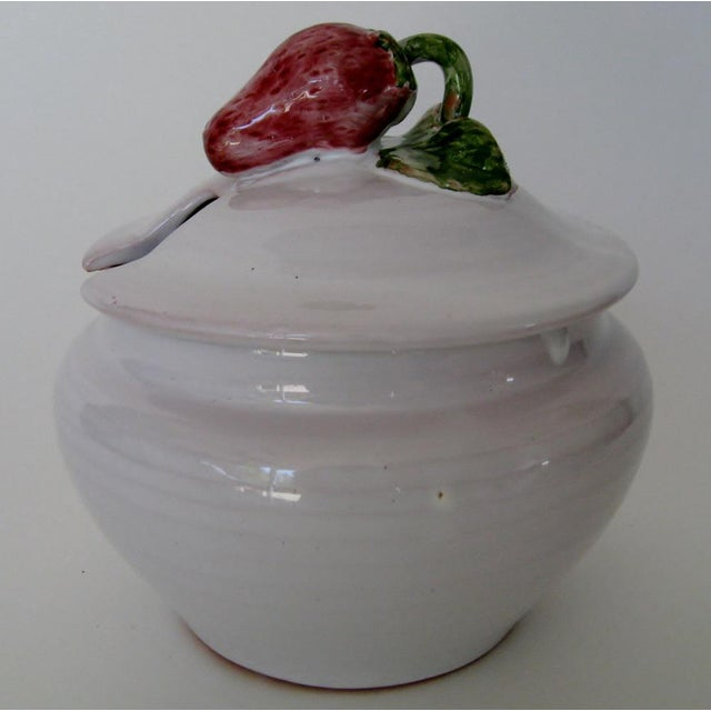 French Vintage French Jam Jar For Sale - Image 3 of 6