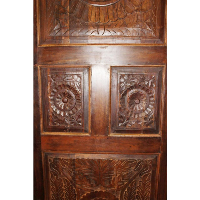 19th Century 19th Century Vintage Rustic Wood Door For Sale - Image 5 of 7