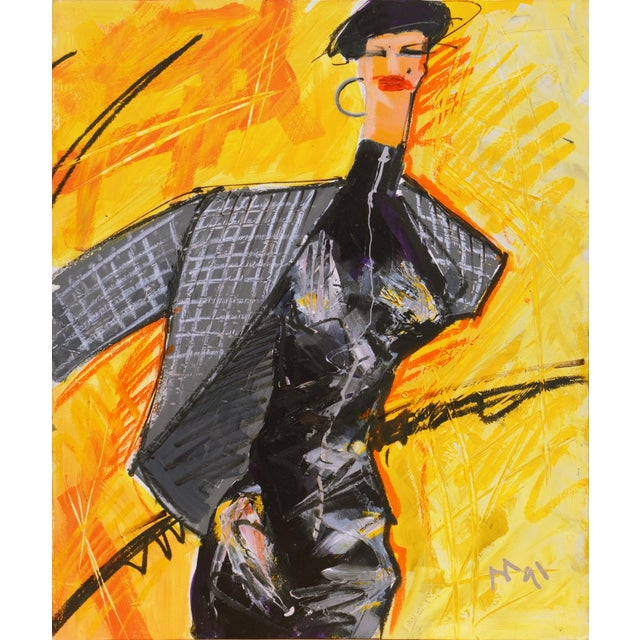 'Fashion Able I' by Isaac Mizrahi, 1991, Parsons School of Design For Sale - Image 9 of 10