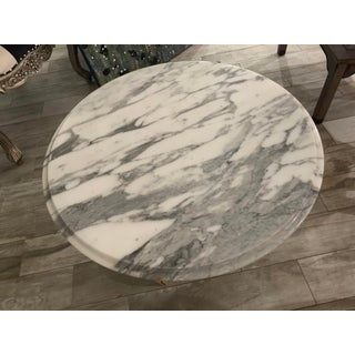 Vintage French Provincial Italian Catco Marble Round Table Preview