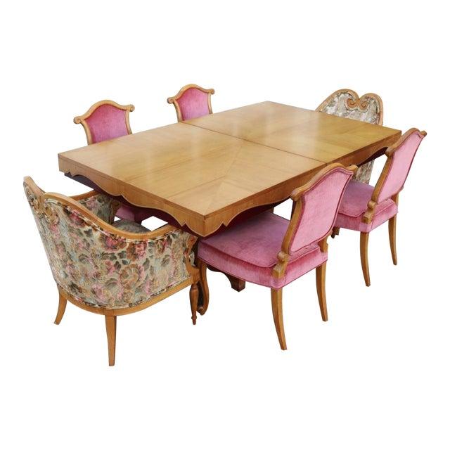 Grosfeld House Art Deco Dining Set - Image 1 of 11