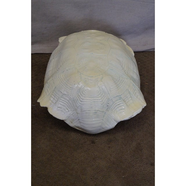 Mid-Century Faux Turtle Shell Wall Sculptures - A Pair For Sale - Image 10 of 10