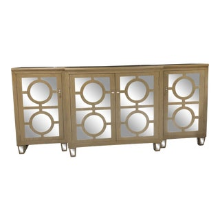 World's Away 3 Piece Mirrored Buffet