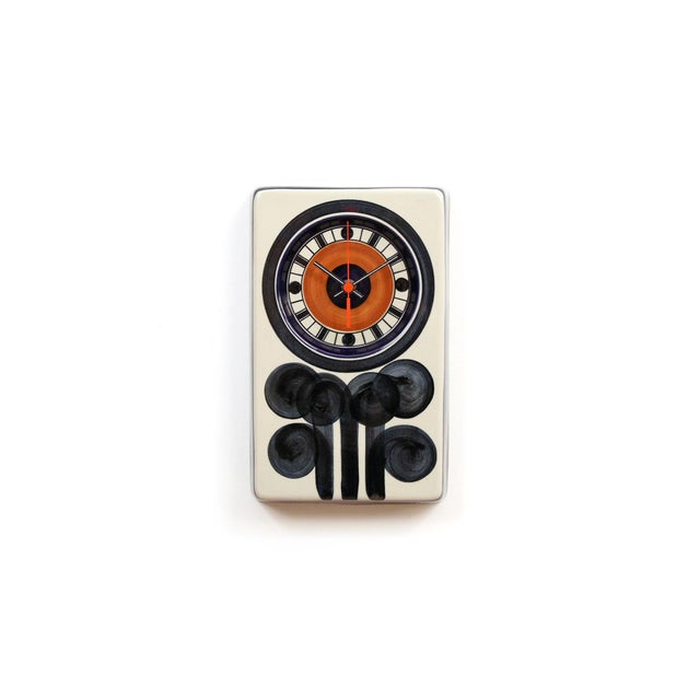 Rorstrand Ceramic Clock Designed by Marianne Westman For Sale - Image 10 of 10