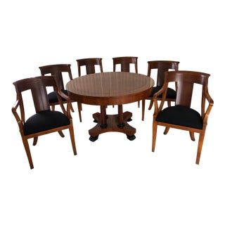 Baker Furniture Table & Chairs Transitional For Sale