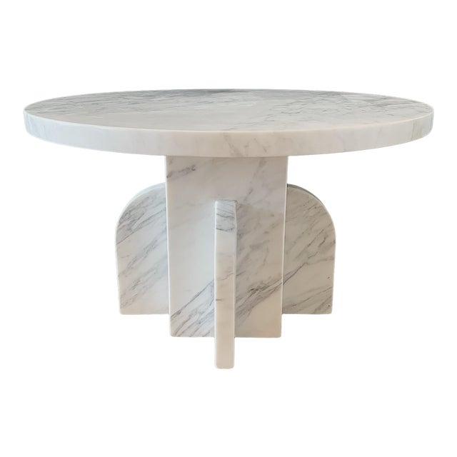 Modern Seer Studio Ratio Carrara Cocktail Table For Sale